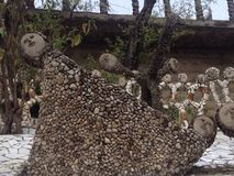 Statues chez Nek Chand Rock Garden, Chandigarh, Inde image stock