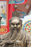 Statues of Chinese deity. Royalty Free Stock Images
