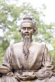 Statues of Chinese deity. Royalty Free Stock Photography