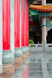 Statues in the Chinese garden. Royalty Free Stock Images