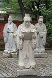 Statues of Chinese Sages Stock Photography