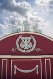 Statues contre le ciel Image stock