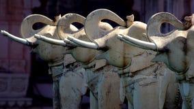 Statues d'éléphant images stock