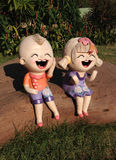 Statues d'enfants Images stock