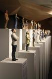 Statues d'homme d'affaires italien Photographie stock