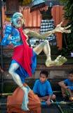 Statues d'Ogoh-Ogoh, Bali, Indonésie photos stock