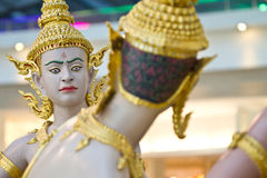 Statues dans l'aéroport de Bangkok Photo libre de droits