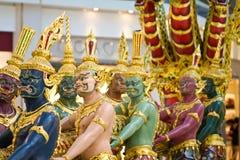 Statues dans l'aéroport de Bangkok Photographie stock libre de droits