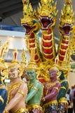 Statues dans l'aéroport de Bangkok Photos stock