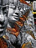 Temple de Khmer au Cambodge photo libre de droits