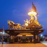 Statues dans Rishikesh Photos libres de droits