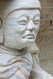 Statues découpées à Guilin en pierre Chine Image stock