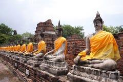 Statues de Bouddha Images libres de droits