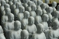 Statues de Bouddha au temple de Hase-Dera Image libre de droits