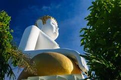 Statues de Bouddha chez Wat Doi Kham Images libres de droits