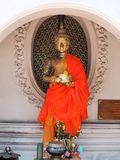 Statues de Bouddha de la Thaïlande Photos stock