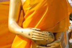 Statues de Bouddha en or. Photos libres de droits