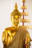 Statues de Bouddha en tant que respecté de la Thaïlande Images libres de droits