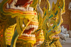 Statues de dragon Photographie stock libre de droits
