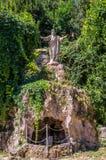 Statues de Jesus Christ dans la cour du delle Tre Fontane d'Abbazia, dans le martyre de l'apôtre Paul à Rome, l'Italie Photo libre de droits