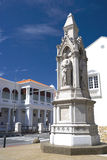 statues de justice d'héritage image libre de droits