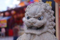 Statues de lion de Chainese Image libre de droits