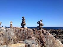 Statues de roche Photo stock