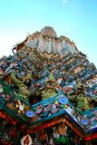 Statues de Wat Arun Photos libres de droits