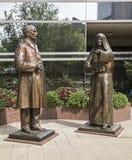 Statues de William Mayo de moes d'Alfred de mère Photo libre de droits