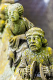Statues of decorative and fantasy figures royalty free stock images