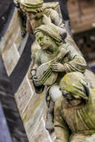 Statues of decorative and fantasy figures Stock Photos