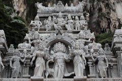 Statues in Batu Caves Stock Image