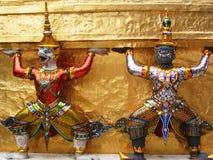 Statues des rakshas Image libre de droits