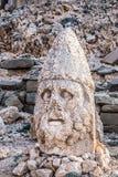 Statues du mont Nemrut, Adiyaman, Turquie Photos libres de droits