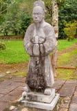 Statues at emperor Minh Mang Royalty Free Stock Photos