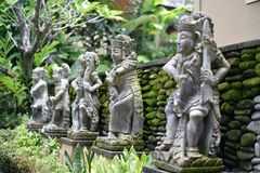 Statues en pierre Image libre de droits