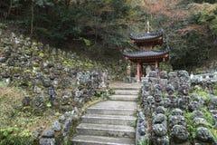 Statues en pierre de Bouddha Photographie stock libre de droits