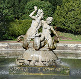 Statues in a Fountain Royalty Free Stock Images