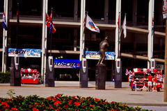 Statues in front of Old Busch Stadium Royalty Free Stock Images
