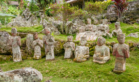 Statues in Garden Stock Photos