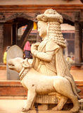 Statues of god in Bhaktapur,Nepal Stock Images