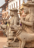 Statues of god in Bhaktapur,Nepal Stock Photos