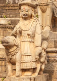 Statues of god in Bhaktapur,Nepal Royalty Free Stock Photo