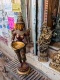 Statues of goddesses Stock Image