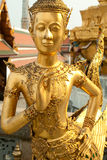 Statues grand palace bangkok Stock Photo