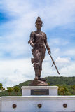 Statues Great King's of Thailand in Rajabhakti Park Royalty Free Stock Images