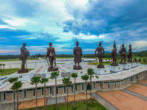 Statues Great King's of Thailand in Rajabhakti Park Royalty Free Stock Photos