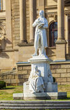 Statues at the Hessisches Staatstheater Wiesbaden Stock Photo