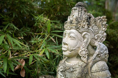 Statues of Hindu god carvings in stone Royalty Free Stock Photography