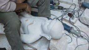 Statues of Hindu Gods Buddha. Crafts and Arts of India. Murti Royalty Free Stock Image